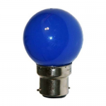Sphérique Incandescence B22 15W Bleu