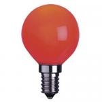 Sphérique Incandescence E14 15W Rouge