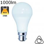 Standard LED B22 1000lm 2700K dimmable