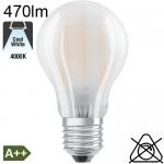 Standard Dépolie LED E27 470lm 4000K