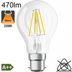 Standard LED B22 470lm 2700K