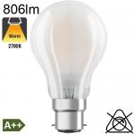 Standard Dépolie LED B22 806lm 2700K