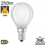 Sphérique Dépolie LED E14 250lm 2700K