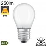 Sphérique Dépolie LED E27 250lm 2700K