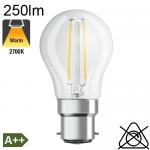 Sphérique LED B22 250lm 2700K