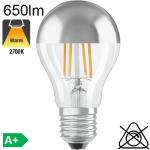 Standard Calotte Argentée LED E27 650lm 2700K