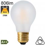 Standard Dépolie LED E27 806lm 2700K Dimmable