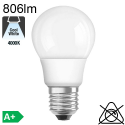 Standard LED E27 806lm 4000K