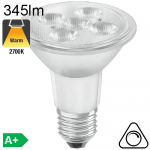Spot PAR20 LED E27 345lm 36° 2700K Dimmable