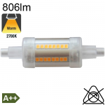 R7S 78mm LED 806lm 2700K