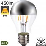 Standard Calotte Argentée LED E27 450lm 2700K