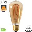 Edison ST64 Loop Ambrée LED E27 200lm 2000K Dimmable