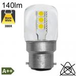 Veilleuse LED B22 140lm 3000K