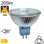 Spot Réflecteur Alu Halogène GU5.3 20W 205lm