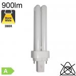 Fluo D Fluo-Compacte G24-d1 13W 900lm 3000K