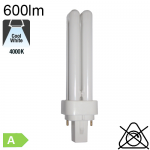 Fluo D Fluo-Compacte G24-d1 10W 600lm 4000K