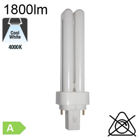 Fluo D Fluo-Compacte G24-d3 26W 1800lm 4000K