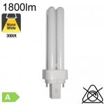 Fluo D Fluo-Compacte G24-d3 26W 1800lm 3000K