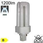 Fluo T Fluo-Compacte Gx24-d2 18W 1210lm 4000K