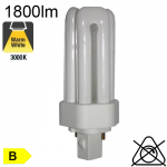 Fluo T Fluo-Compacte Gx24-d3 26W 1800lm 3000K