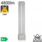 Fluo L Fluo-Compacte 2G11 55W 4800lm 2700K