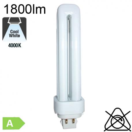Fluo D/E Fluo-Compacte G24-q3 26W 1800lm 4000K