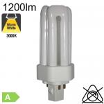 Fluo T/E Fluo-Compacte Gx24-q2 18W 1200lm 3000K OSRAM