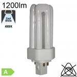 Fluo T/E Fluo-Compacte Gx24-q2 18W 1200lm 4000K