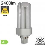 Fluo T/E Fluo-Compacte Gx24-q3 32W 2400lm 3000K