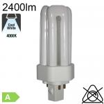 Fluo T/E Fluo-Compacte Gx24-q3 32W 2400lm 4000K