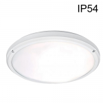 Hublot Blanc IP54 E27 Sans lampe sans Détecteur