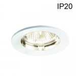 Support Blanc Fixe pour spot Ø50 sans lampe