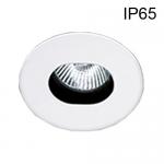 Support Blanc Orientable IP65 pour spot Ø50 sans lampe