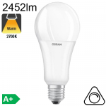 Standard LED E27 2452lm 2700K Dimmable
