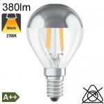 Sphérique Calotte Argentée LED E14 380lm 2700K