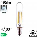 Tube LED E14 495lm 4000°K