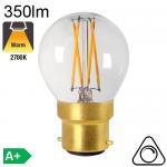 Sphérique LED B22 350lm 2700K Dimmable