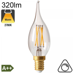 Flamme Grand Siècle LED E14 320lm 2700K Dimmable