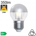 CALOTTE ARGENT LED E27 4W 450 lm