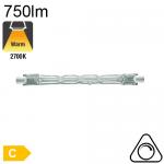 R7S 78mm Halogène 48W 750lm Osram