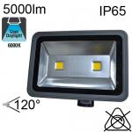 Projecteur Led IP65 80W 5000lm 6000K avec Détecteur