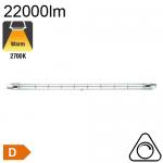 R7s 189mm Halogène 1000W 22000lm