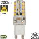 G9 LED 200lm 3000K