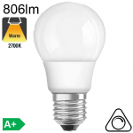 Standard LED E27 806lm 2700K Dimmable