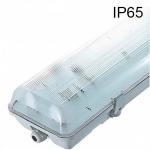 Réglette étanche vide IP65 pour 2 x T8 1200mm