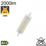 R7S 118mm LED 2000lm 2700K