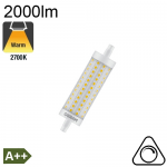 R7S 118mm LED 2000lm 2700K Dimmable