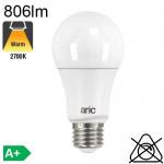 Standard Crépusculaire LED E27 806lm 2700K