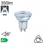 GU10 LED Ø50 3.6W 35° 230lm 2700K GRADABLE