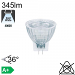 MR11 LED GU4 345lm 4000K 36°